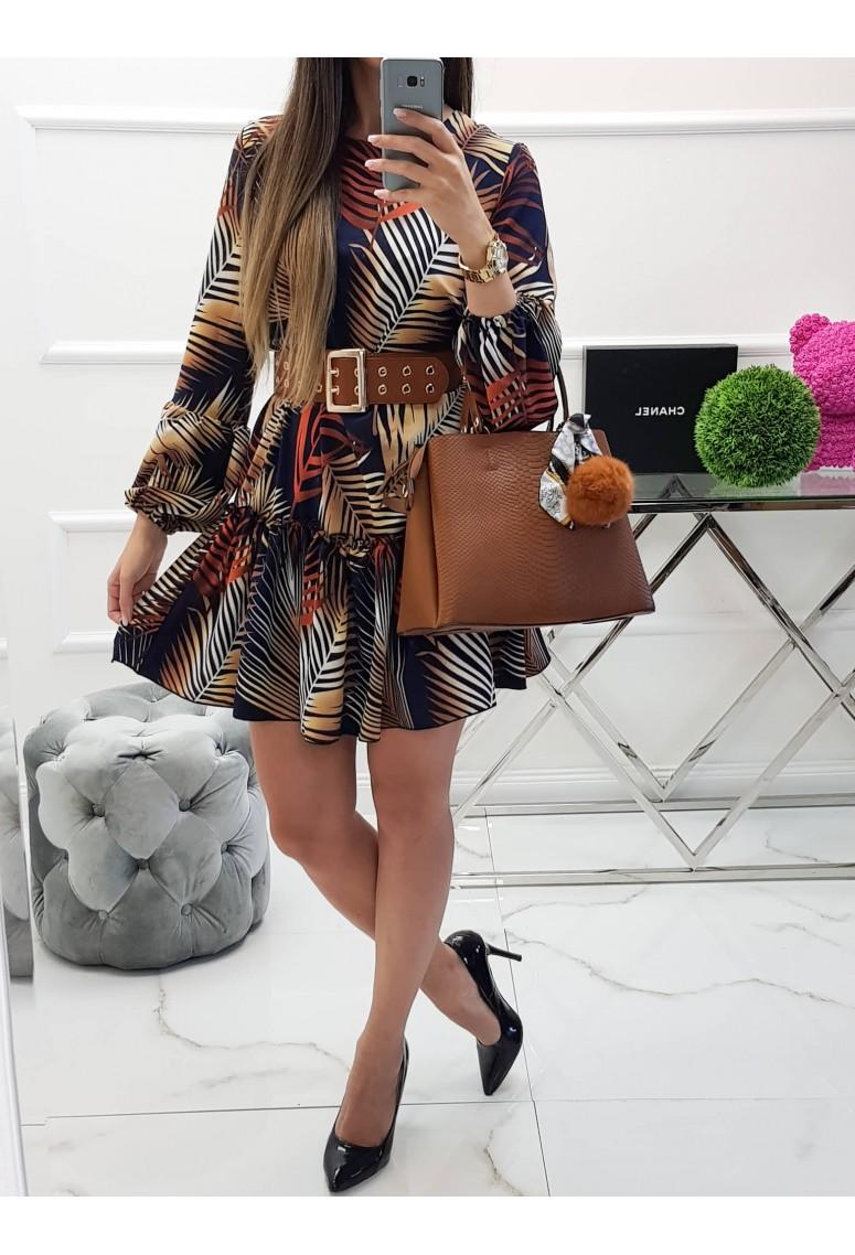 Šaty Lux Autumn Palm