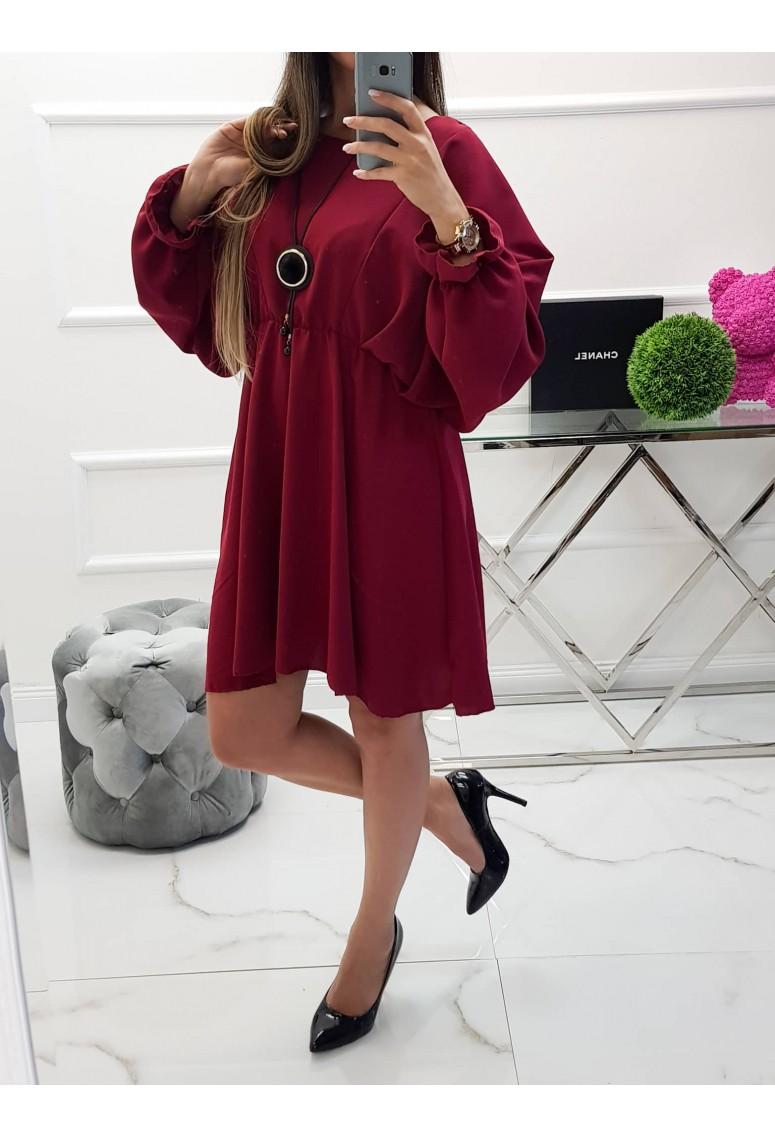 Šaty Meggie - bordové