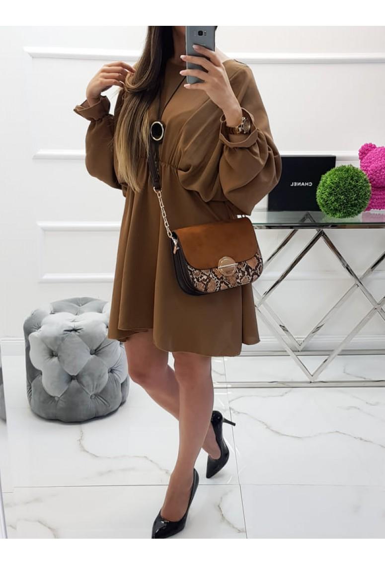 Šaty Meggie - Camel