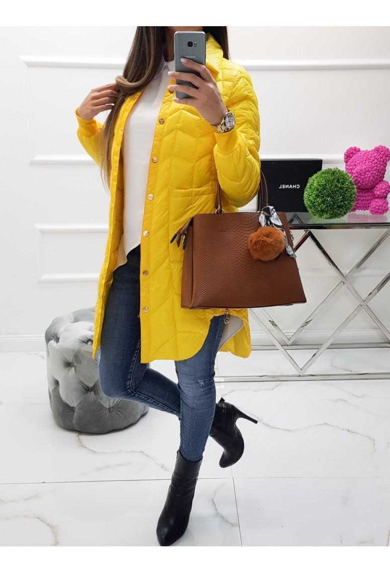 Prechodná bunda Torry - žltá
