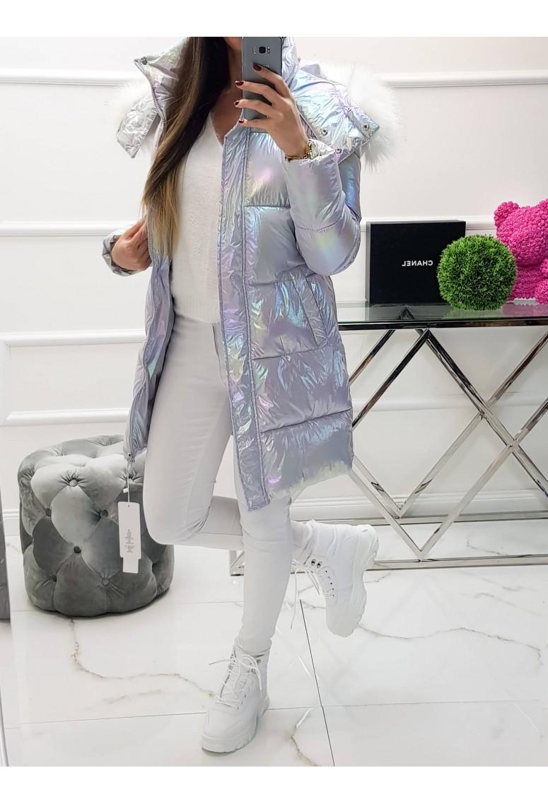 Zimná bunda Angel - perleťová