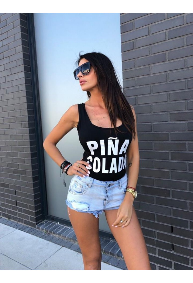 Body PINA COLADA- čierne
