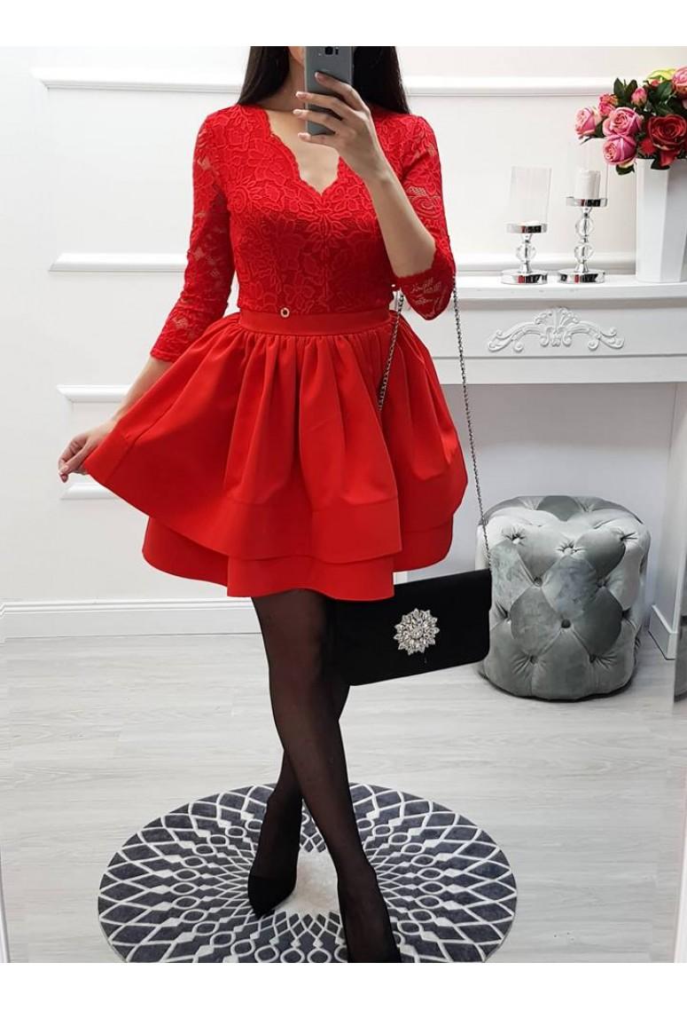Spoločenské šaty Passion Red