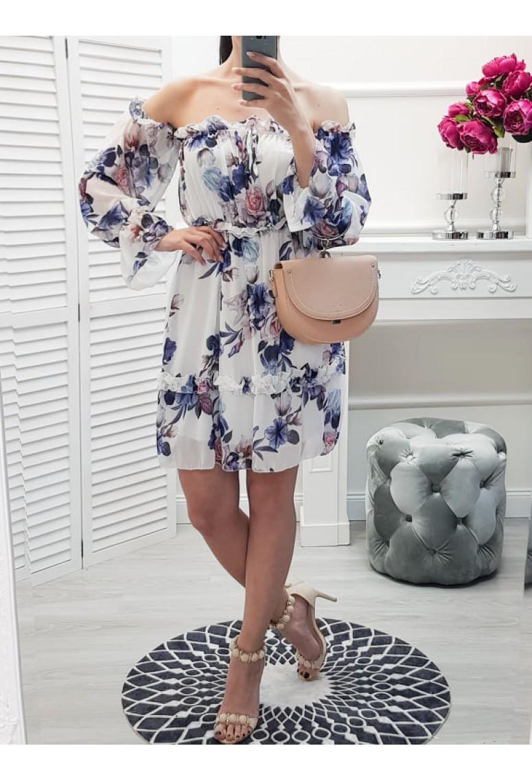 Šaty Gabrielle - kvetované