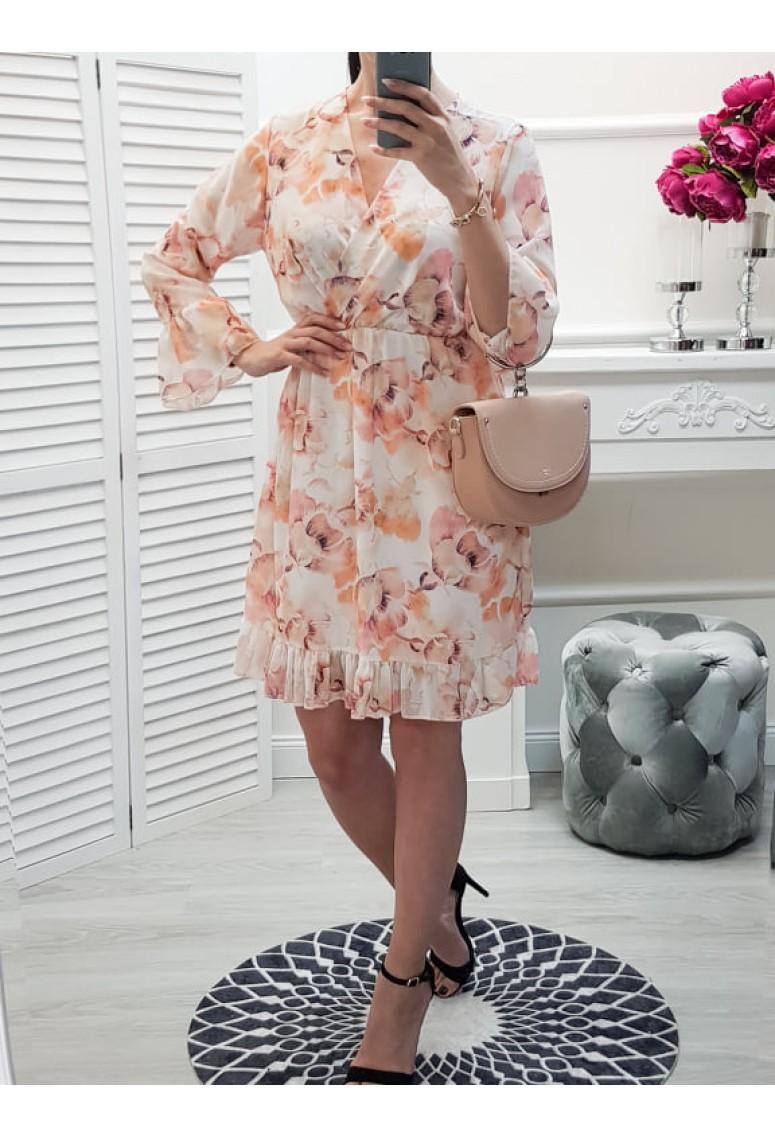 Šaty Aprilia - kvetované