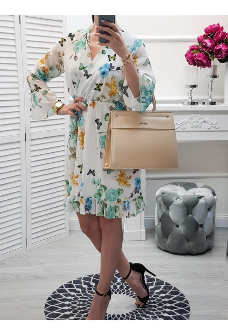 Šaty Dorotea - kvetované