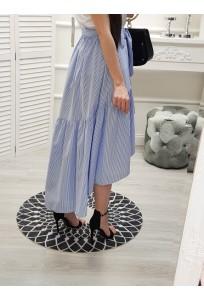 Asymetrická sukňa Butterfly Stripes