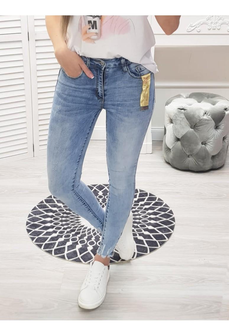 Skinny jeans Fashion - svetlé