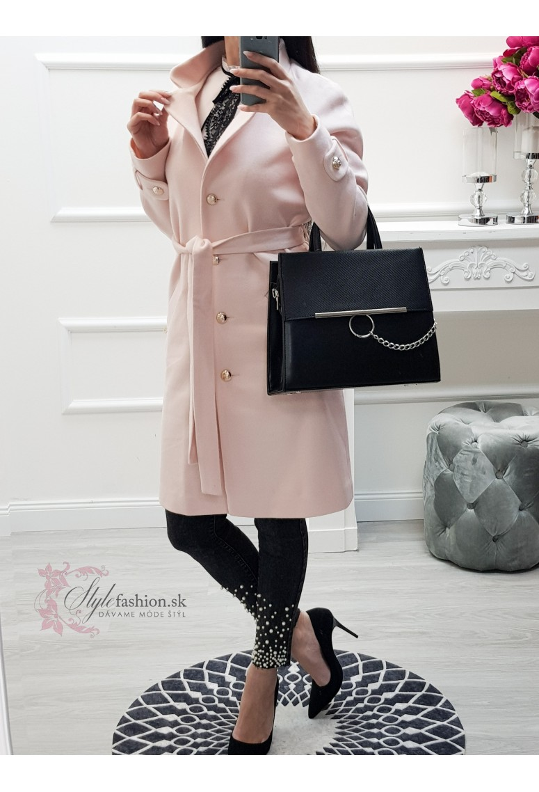 Prechodný kabátik Melissa- bledoružový
