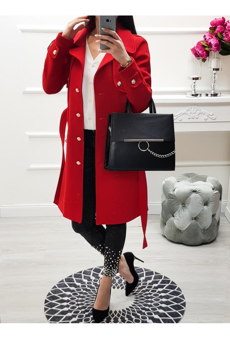 Prechodný kabátik Lora - červený