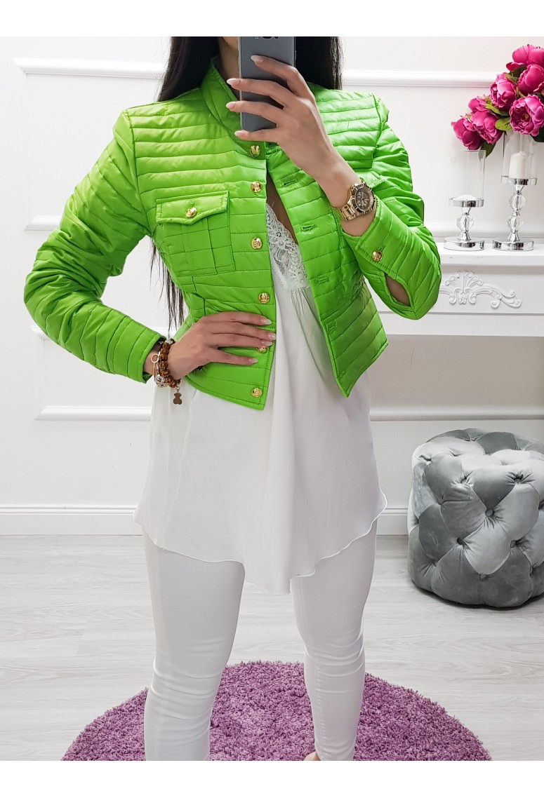 Jarná bundička Lee - zelená