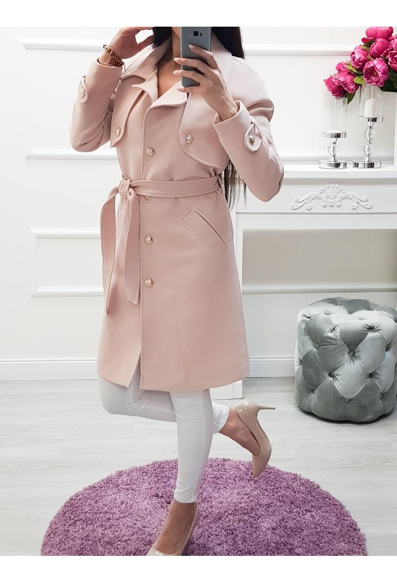 Prechodný kabátik Lora- pudrovoružový