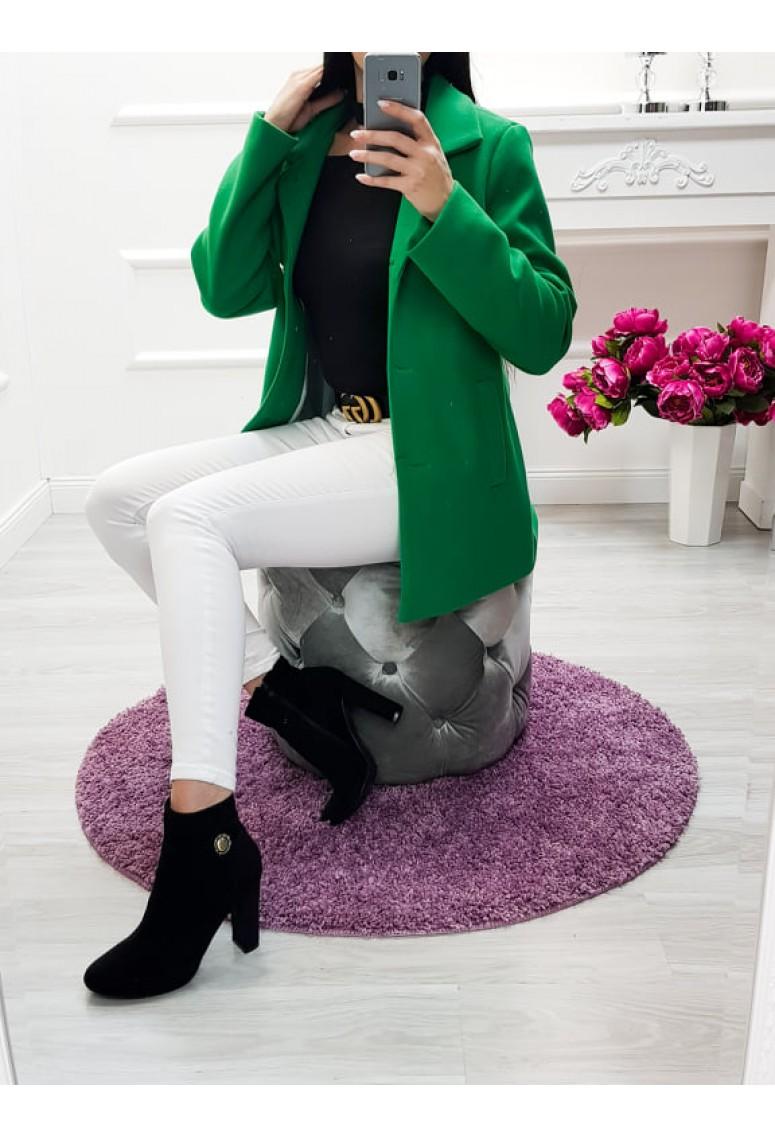Prechodný kabátik Casual - zelený