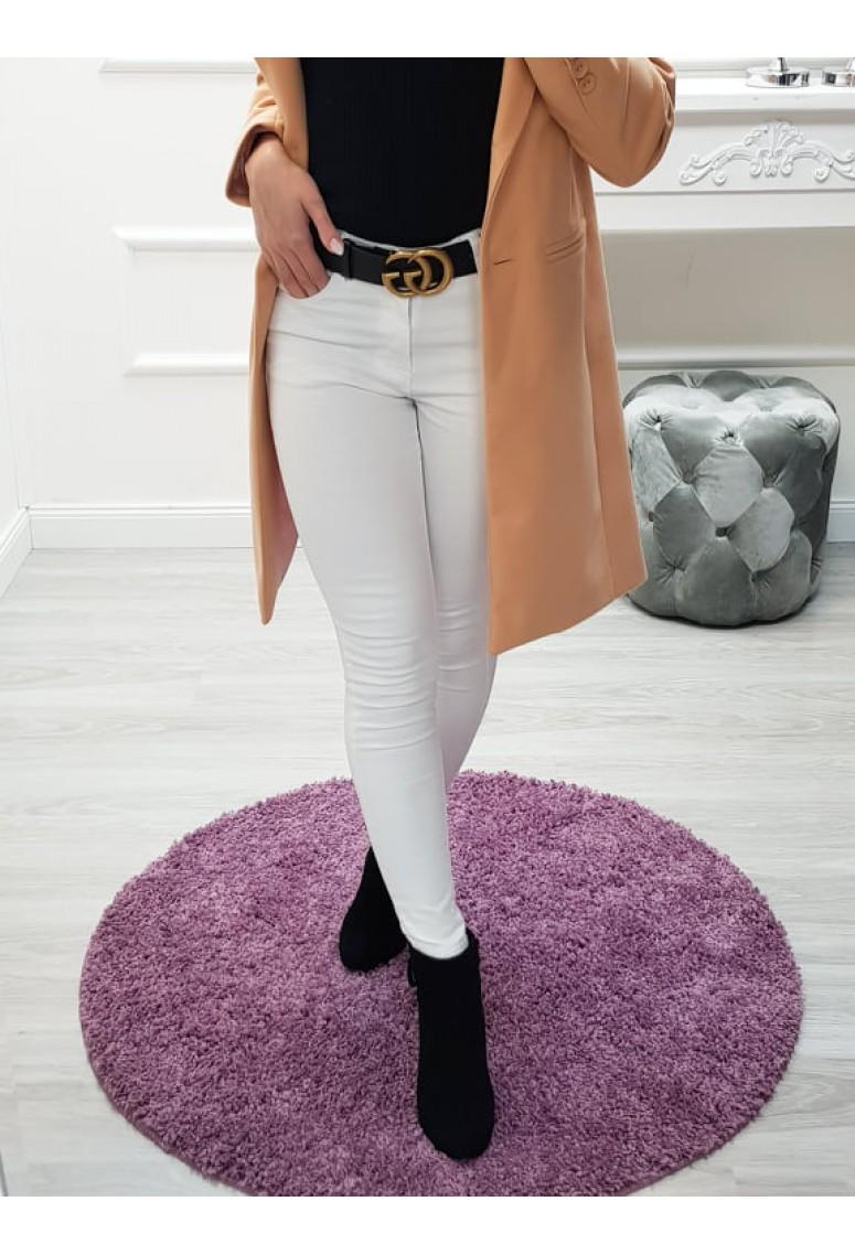 0aa9c44e76 Biele skinny jeans Moris