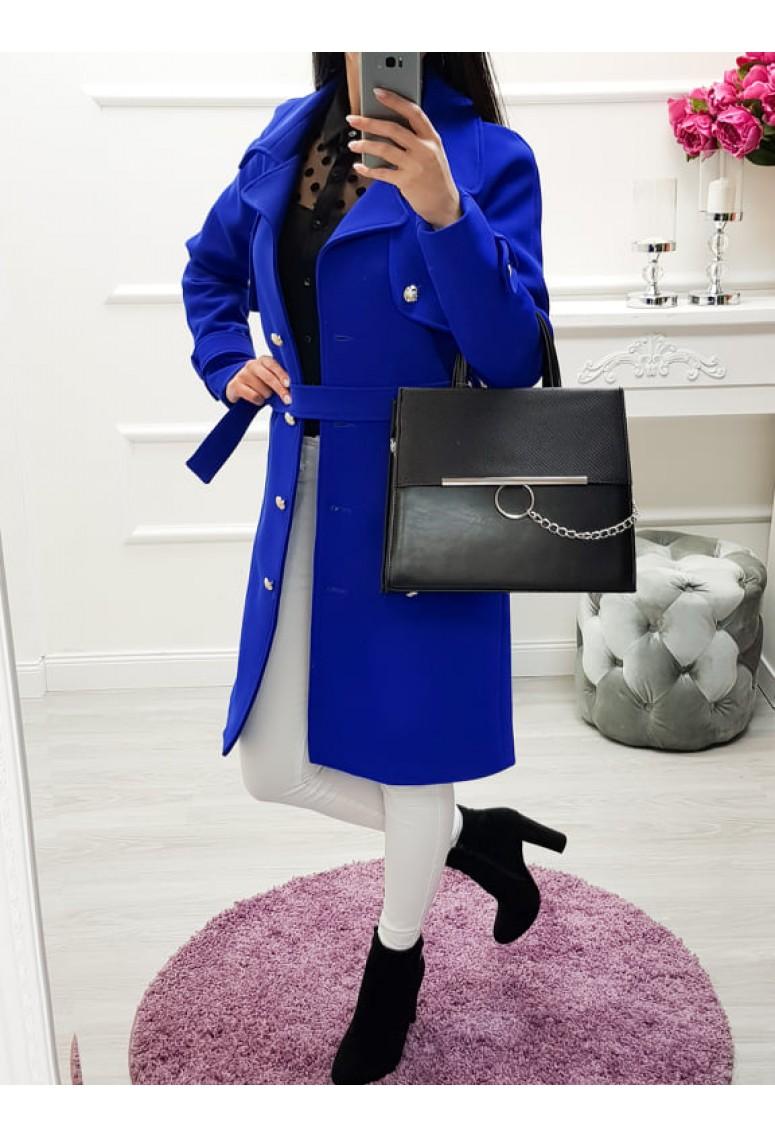 Prechodný kabátik Lora - parížska modrá