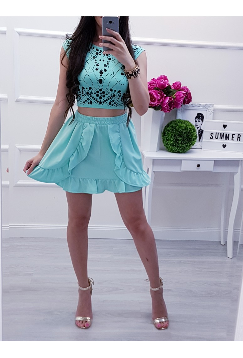 Crop top Mint Monica