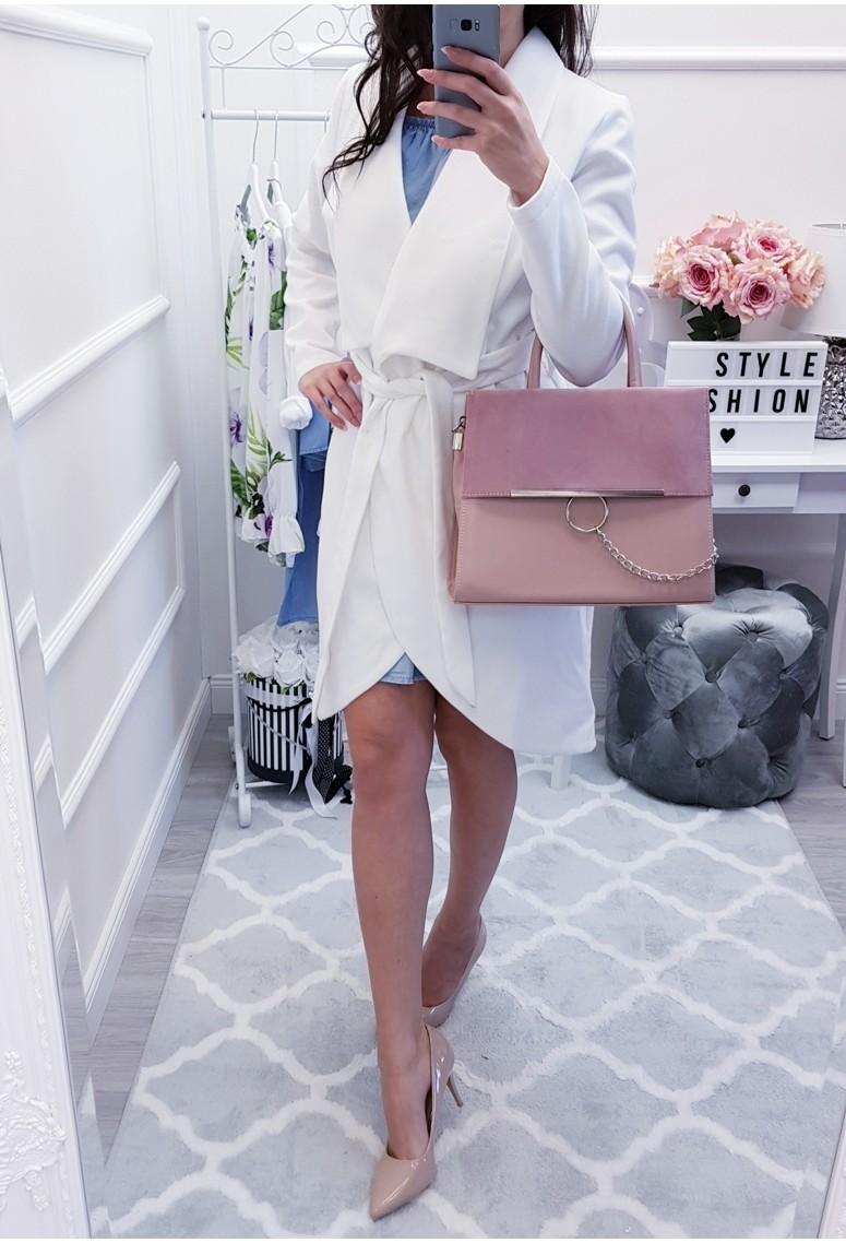 Kabátik Tulip - biely