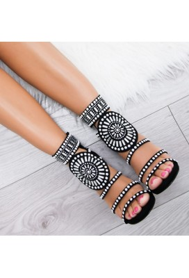 Sandálky Luxe Diamond