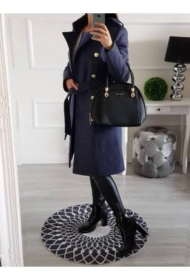 Kabát na Zimu Winter - modrošedý