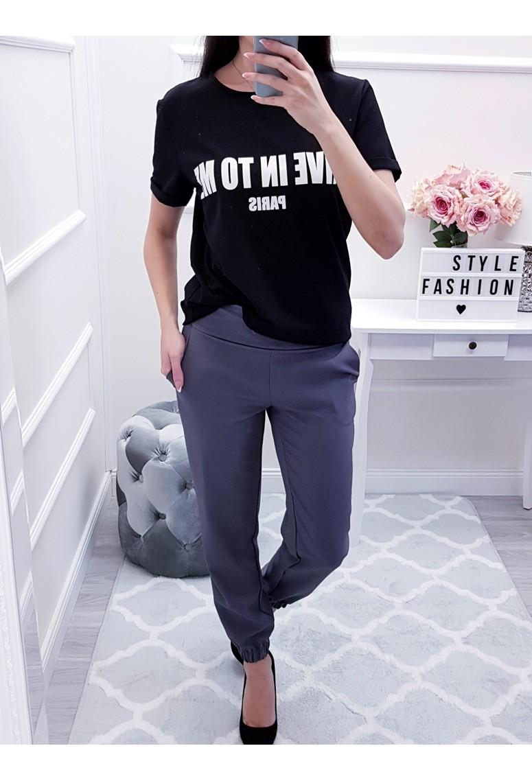 Tričko GIVE - čierne